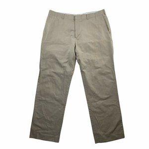 Cubavera Pants Mens 38/32 (inseam measures 31) Natural Color Cotton Linen